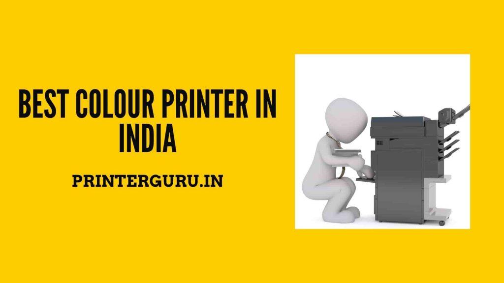 Best Colour Printer In India
