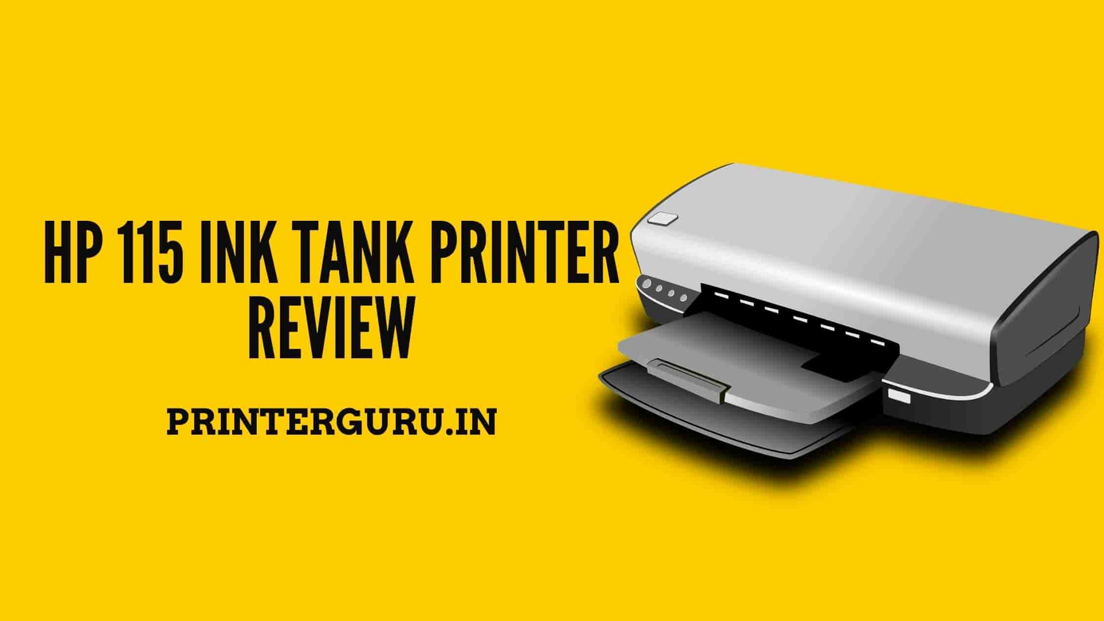 HP 115 Printer Review